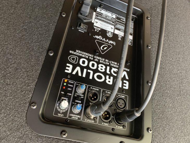 Test: Behringer Eurolive VQ1800D Subwoofer Test: Behringer Eurolive VQ1800D Subwoofer Test: Behringer Eurolive VQ1800D Subwoofer