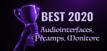 Die besten Audiointerfaces, Preamps und Studiomonitore für 2021