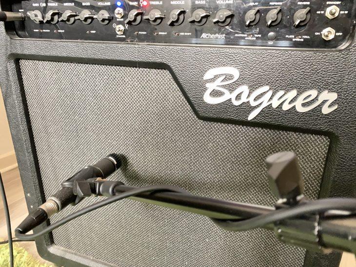 dieE-Gitarre zu Hause aufnehmen - Bogner mikrofoniert