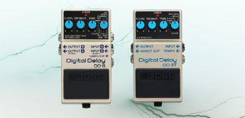 Test: Boss DD-8 Boss DD-3T, Delay-Pedal