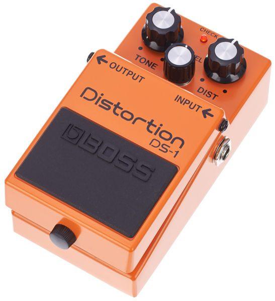 E-Gitarre für Einsteiger Boss Distortion Pedal