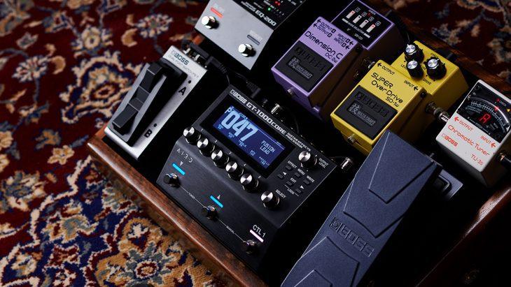 Test Boss GT 1000 Core E-Gitarre