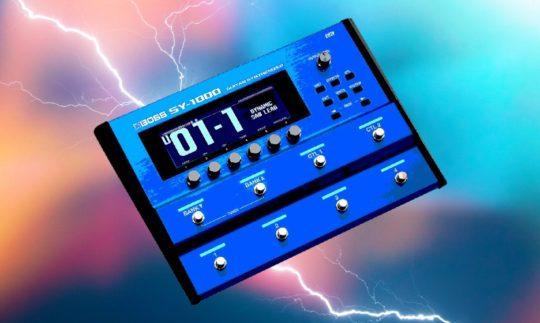 Test: Boss SY-1000, Multieffektpedal, Gitarrensynthesizer