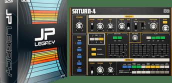 UVI macht Jupiter-Synthesizer zu JP Legacy / neue Vintage Vault 3 – Collection