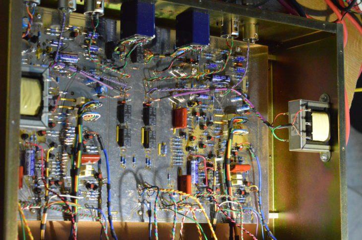 Chandler Zener Limiter TG12413 - Fuer die Komponenten wurde viel Platz gelassen