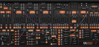 Cherry Audio CA2600 – Synthesizer-Plugin nach ARP 2600