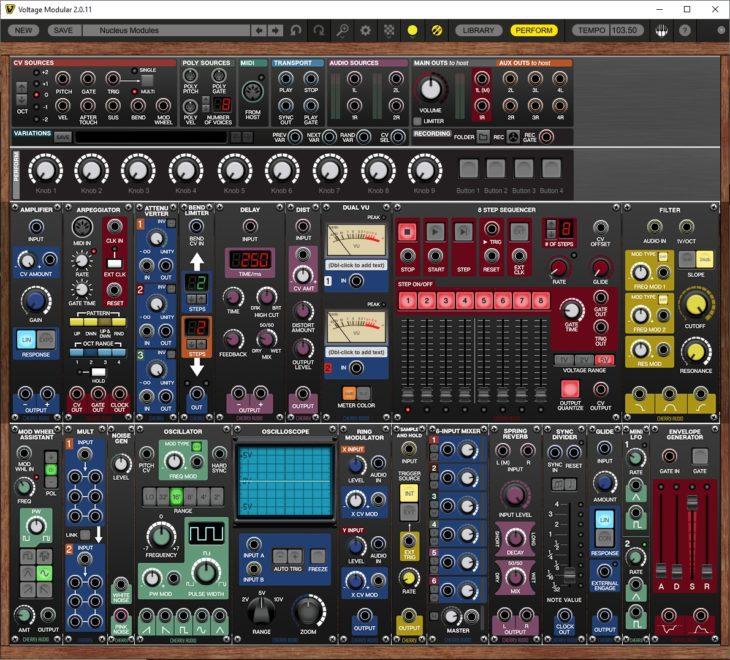 Cherry Audio Voltage Modular 2.0 frame
