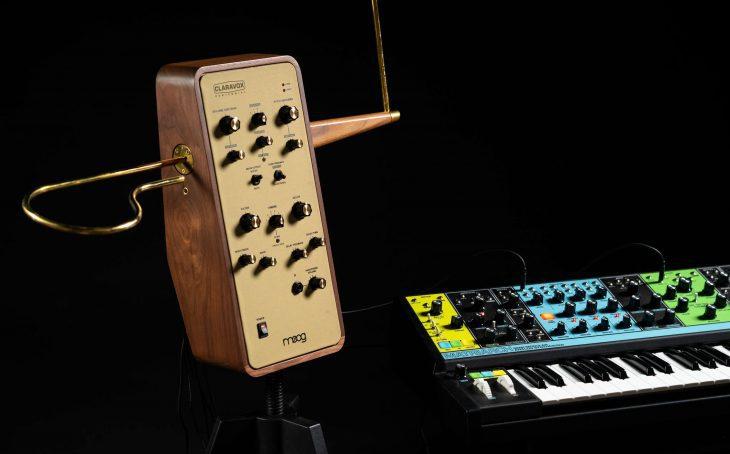 moog claravox centennial synthesizer