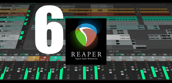 test Cockos Reaper 6.04 DAW