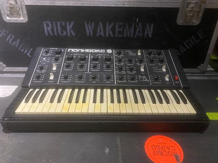 Ein russischer Synthesizer - der Polivoks