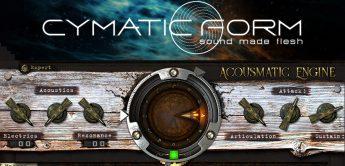 Test: Cymatic Form Acusmatic Engine, SciFi & Horror-Library Plugin