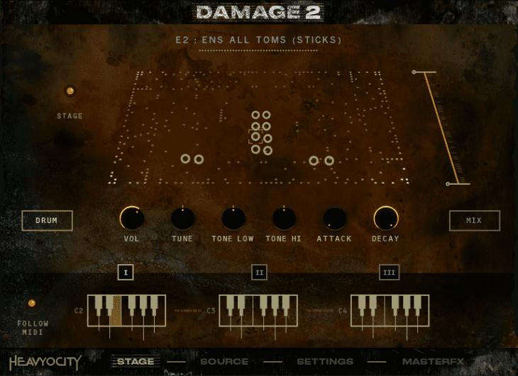 Damage 2 - Ensemble Designer