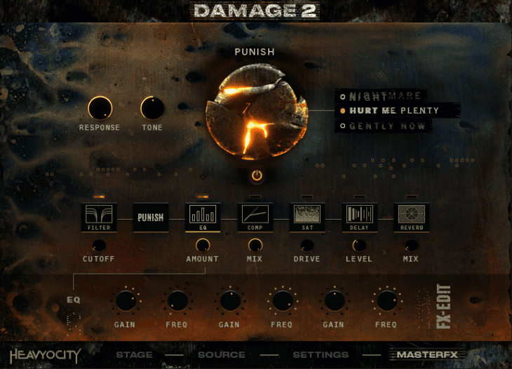 Damage 2 - Ensemble Designer - Master FX