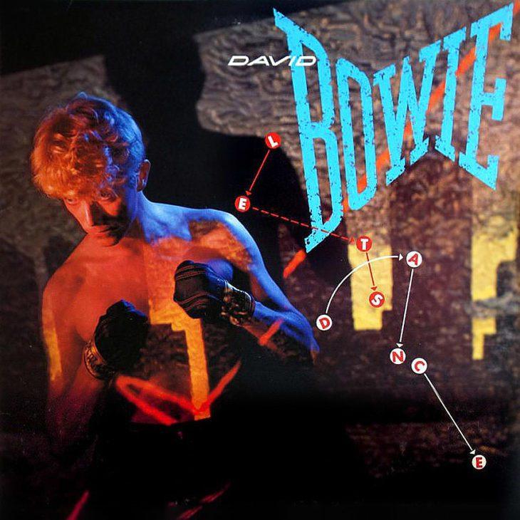 Das Cover von David Bowies Let's Dance-Album.