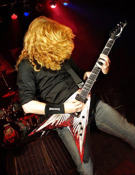 Dean Guitars Angel of Deth Dave Mustaine