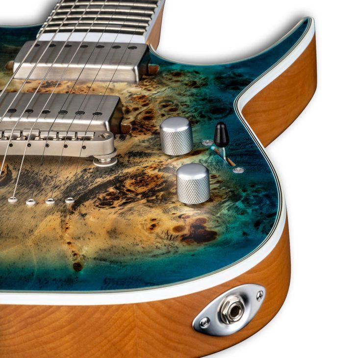 Dean Guitars Exile Select 7 String Schaltung