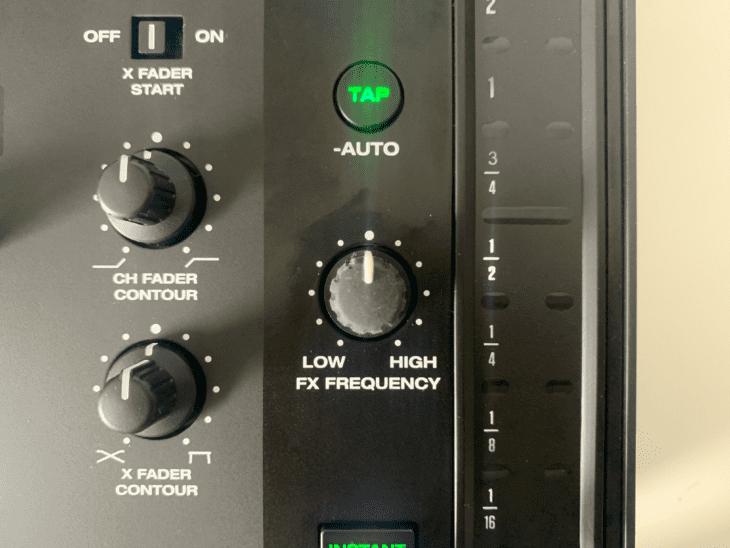 FX-EQ beim Denon DJX 1850 Prime