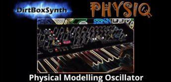 DirtBoxSynth Physiq – Physical Modelling Oszillator für Korg Prologue & Minilogue XD