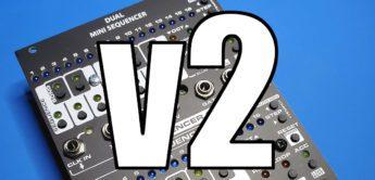 Division 6 Dual Mini Sequencer v2 – Update für das Eurorack-Modul