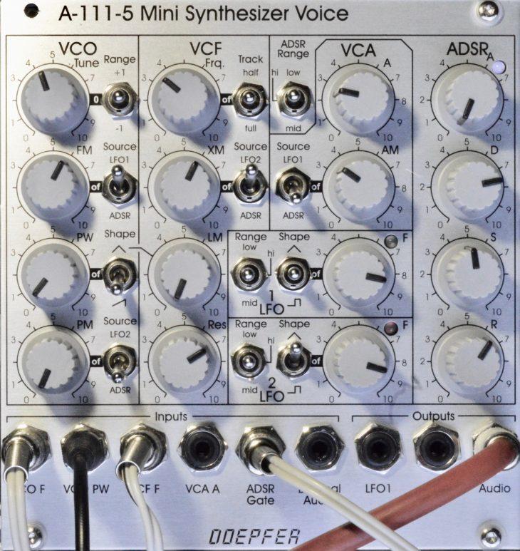Test: Doepfer A-111-5 Mini Synthesizer Voice, Eurorack