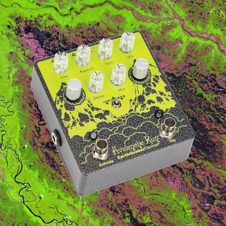 Test Delay und Reverb Pedal Earthquaker Devices