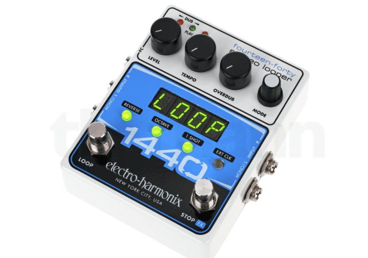 Test EHX 1440 Stereo Looper