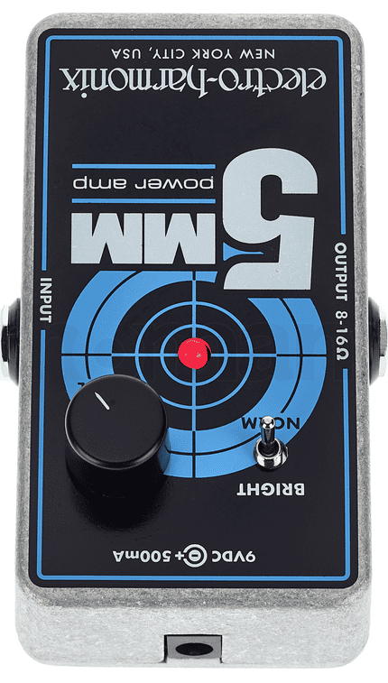 Electro Harmonix 5MM Aufsicht Test