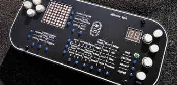 Ellitone Synthesizers stellt den Handheld-Synthesizer E[64] vor