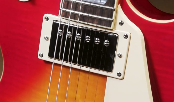Epiphone Les Paul 1960 Bonamassa LTD E-Gitarre Front-Pickup