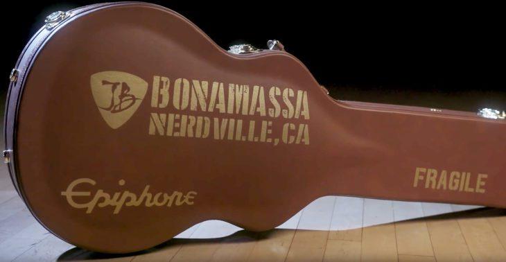 Epiphone Les Paul 1960 Bonamassa LTD E-Gitarre Koffer