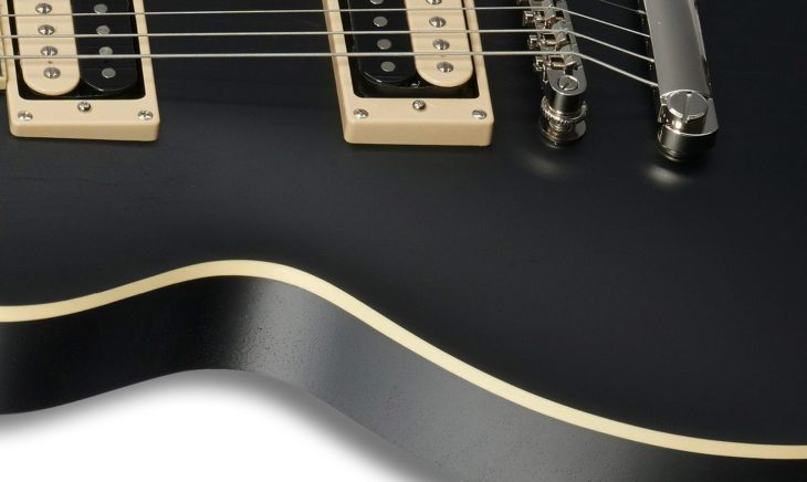 Epiphone Les Paul Classic Worn E-Gitarre Body 1