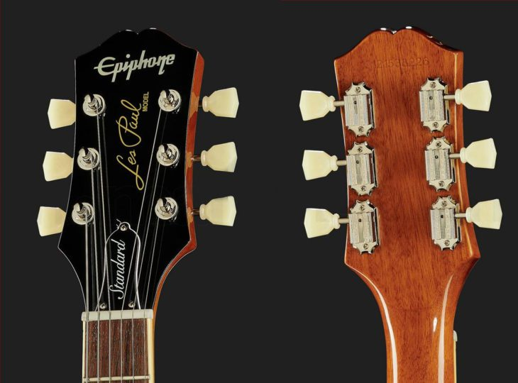 Epiphone Les Paul Standard 50s Headstock