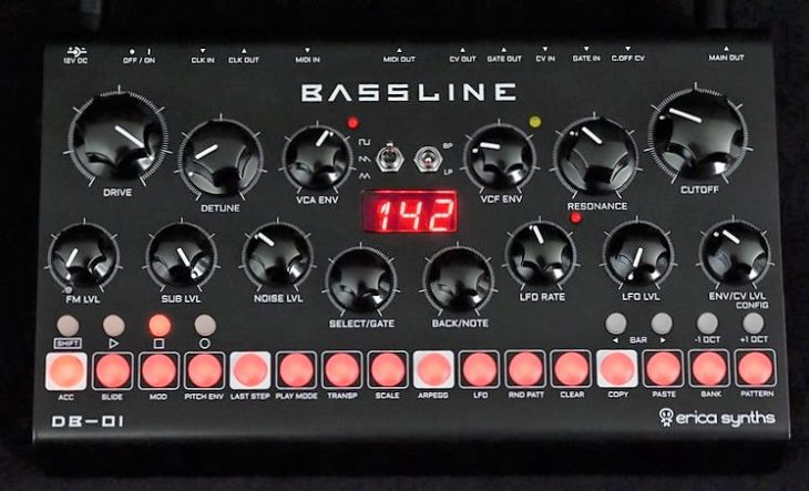 Erica Synth Bassline DB-01