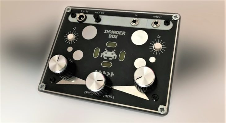 error instruments invader box chiptune synthesizer