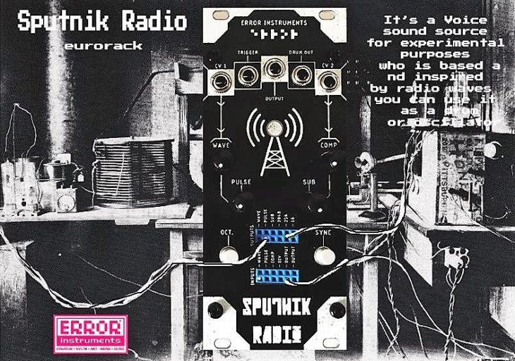 error instruments sputnik radio module