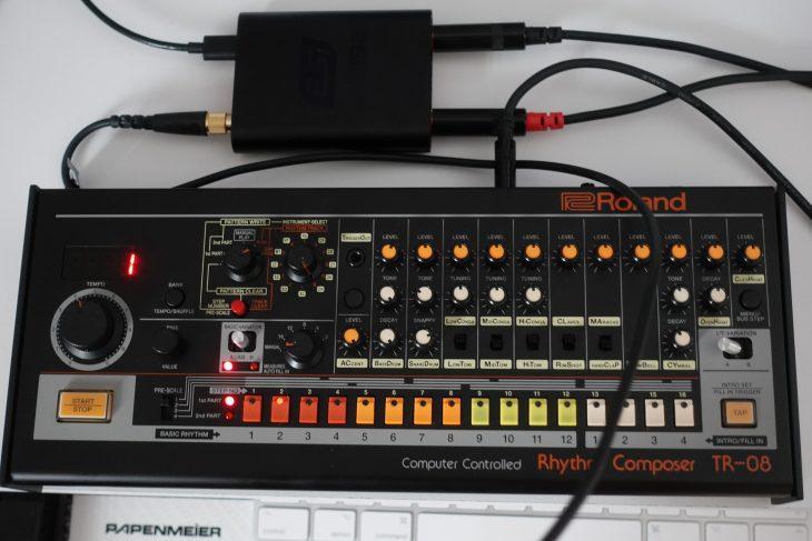 ESI UGM192 mit Roland TR-08