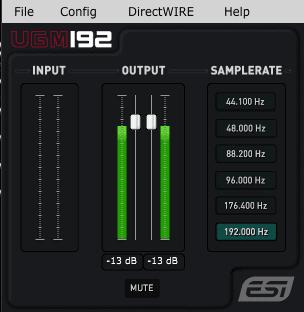 ESI UGM192 Mixer
