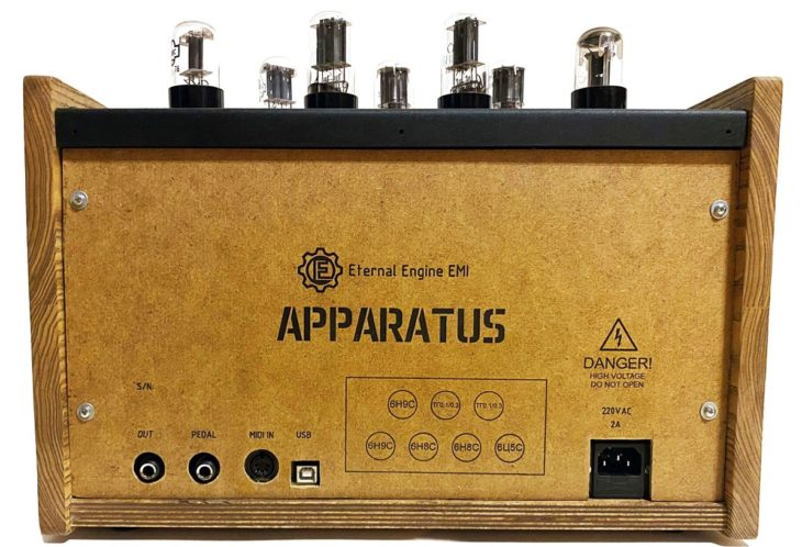 Eternal Engine EMI Apparatusduophonic Tube Synthesizer rear