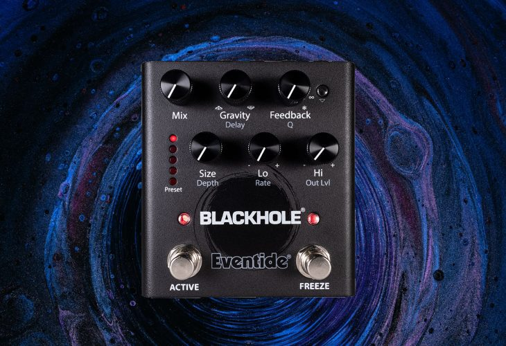 Test: Eventide Blackhole, Hall-Pedal