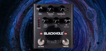 Test: Eventide Blackhole, Hall-Pedal