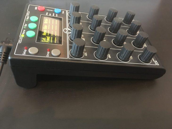faderfox EC4 test