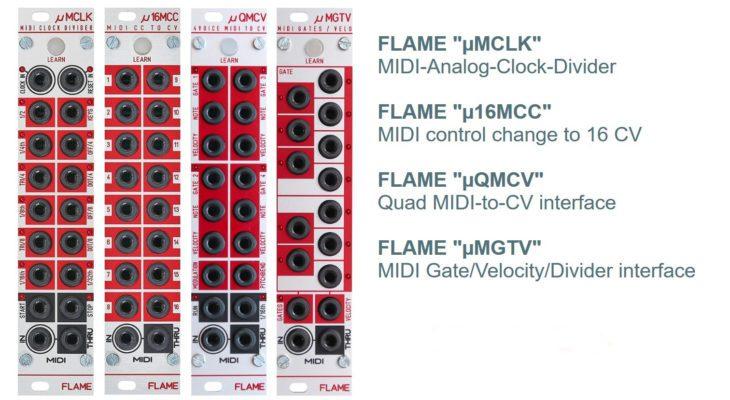 Flame MIDI module