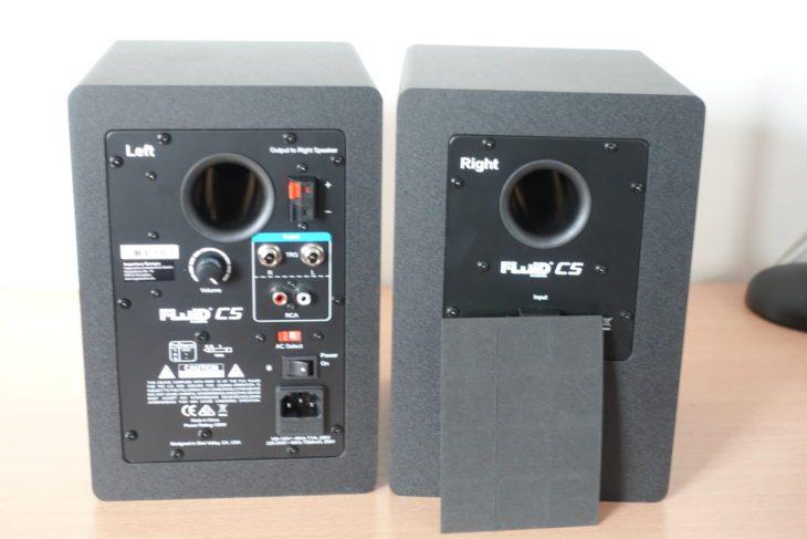Fluid Audio C5 Rückseiten