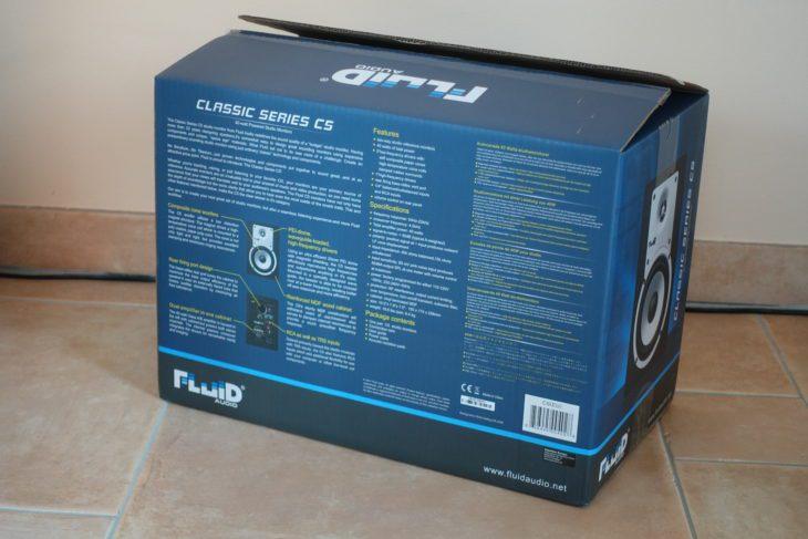 Fluid Audio C5 Verpackung