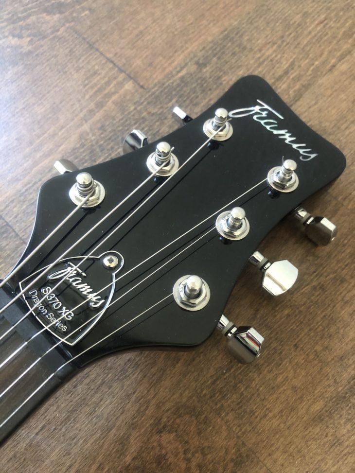 Framus D-Series S 370 XG E-Gitarre Kopfplatte
