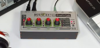 Test: Fred's Lab Buzzzy! 1.21, polyphoner Synthesizer