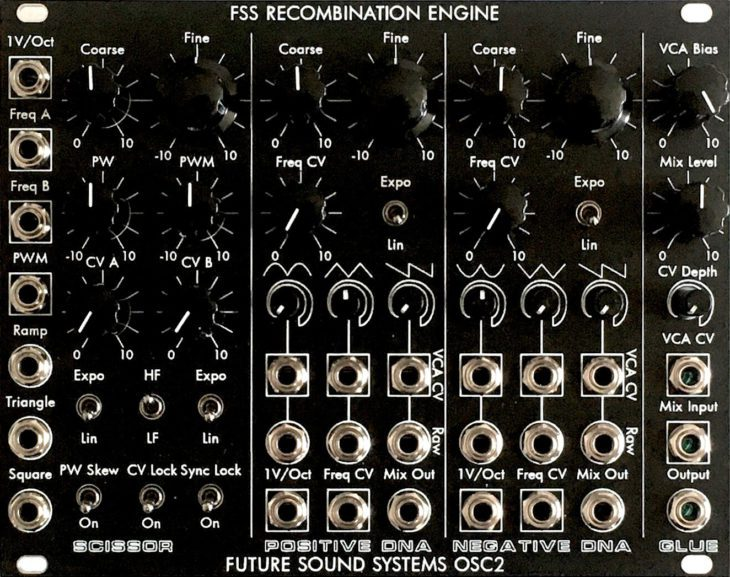 Future Sound Systems OSC2 Recombination Engine eurorack module