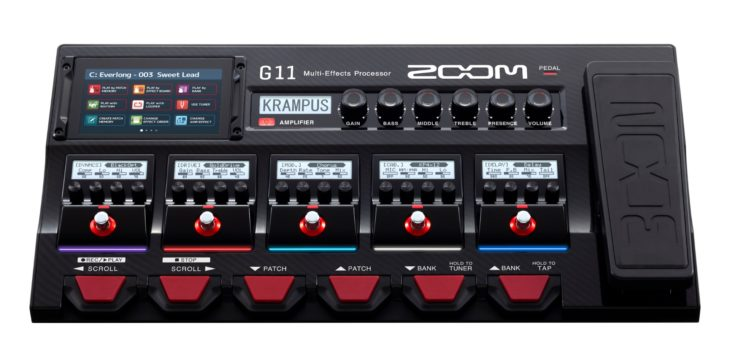 TEST Zoom G11 Multieffektgerät