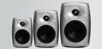 Genelec präsentiert Studiomonitore 8020, 8030, 8040 in Aluminium-Optik