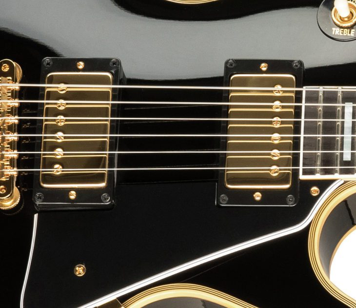 Gibson Les Paul 68 Custom Reissue E-Gitarre Custombucker